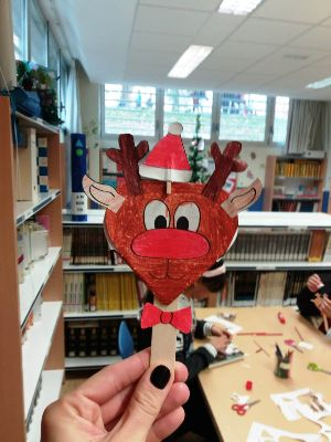 Talleres Navidad Biblioteca Escolar El Porvenir