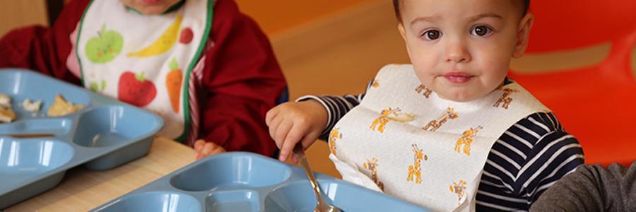 La comida y la alimentación de los más pequeños