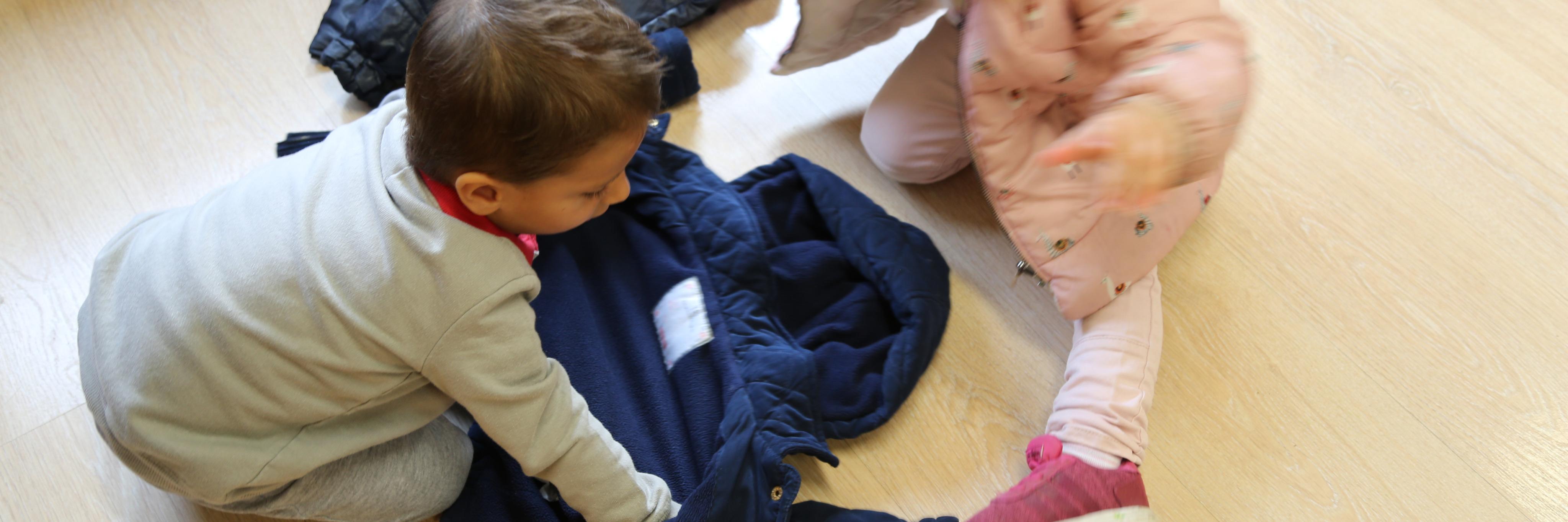 Las clases de 1 a 2 años en nuestra Escuela Infantil