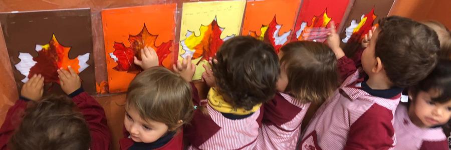 Actividad sensorial con los niños de 2 años