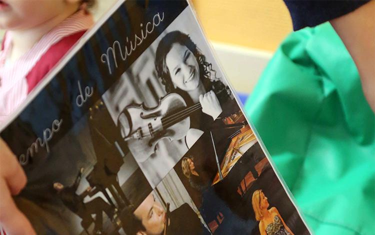 Música en la Escuela Infantil El Porvenir