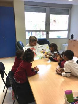 Auxiliares de lectura y conversación en inglés en 2º ciclo de Educación Infantil