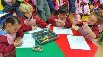 Día de la Paz en Segundo ciclo de Educación Infantil