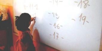 Jugando con las matemáticas en 5 años