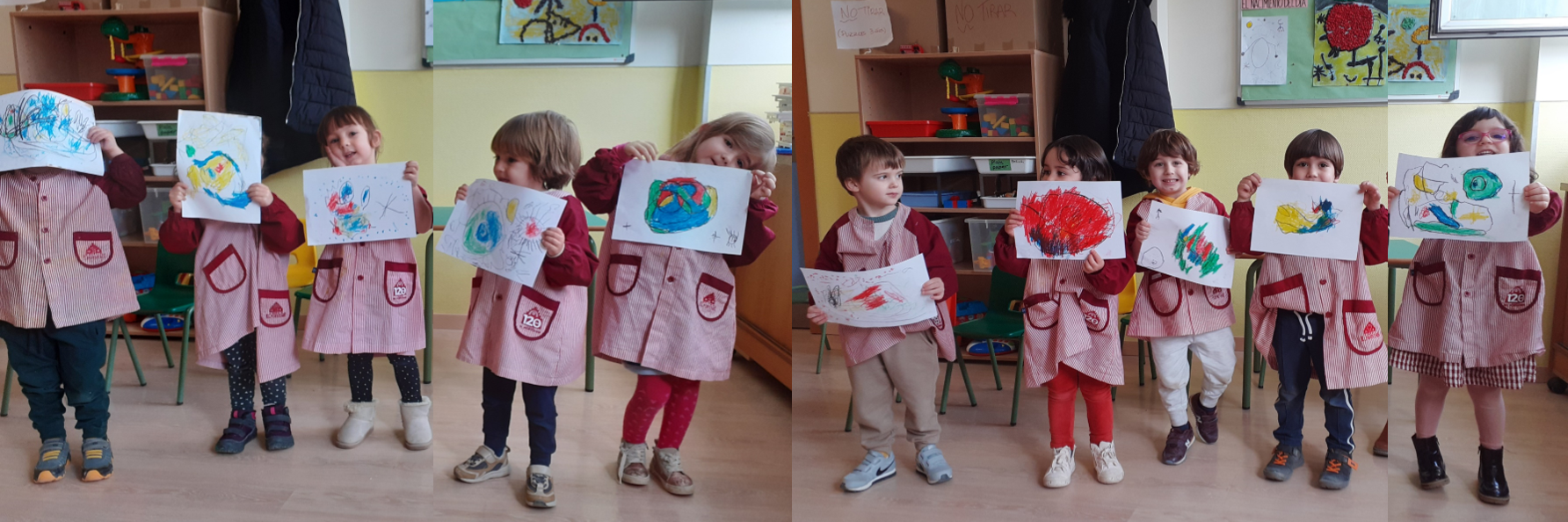 """Proyecto: """"PINTANDO CON MIRÓ"""" (3 años)"""