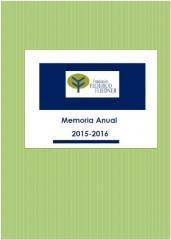 La Fundación Federico Fliedner presenta la Memoria Anual 2015-2016