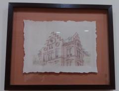 JIMI Estudio de Arquitectura dona una colección de cuadros para el colegio El Porvenir