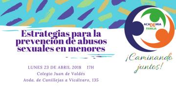 """Academia de Familia aborda en el colegio Juan de Valdés las """"Estrategias para la prevención de abusos sexuales en menores"""""""