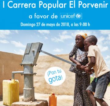 Se celebra la I Carrera Popular Solidaria en el colegio El Porvenir