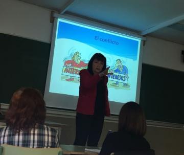 El proyecto de mediación de los colegios de la Fundación participa en el Seminario universitario sobre mejora de la convivencia