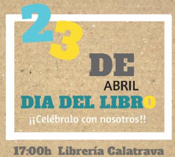 La Librería Calatrava celebra el Día del Libro