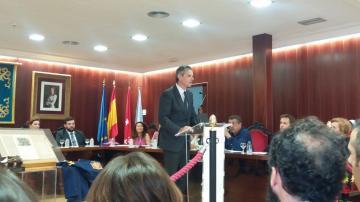 Hoy se ha entregado la Medalla de Oro de la Leal Villa de El Escorial a la Fundación Federico Fliedner
