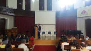 Se gradúa la primera promoción de Bachillerato en el colegio El Porvenir