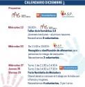 Ya está abierta la inscripción para las actividades de diciembre del proyecto CUIDAR-CRECER-CAMBIAR