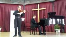 La música y la solidaridad se unen en el concierto benéfico de violín y piano de la Fundación
