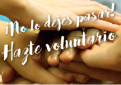 Ya está abierto el plazo de inscripción para el voluntariado de mayo