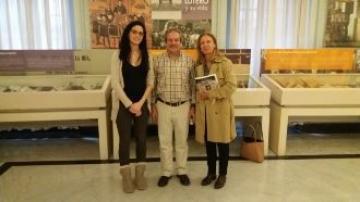 """La Directora de la Oficina Alemana de Turismo en España visita la exposición """"1517-2017, rescatando un tesoro PROTESTANTE"""""""