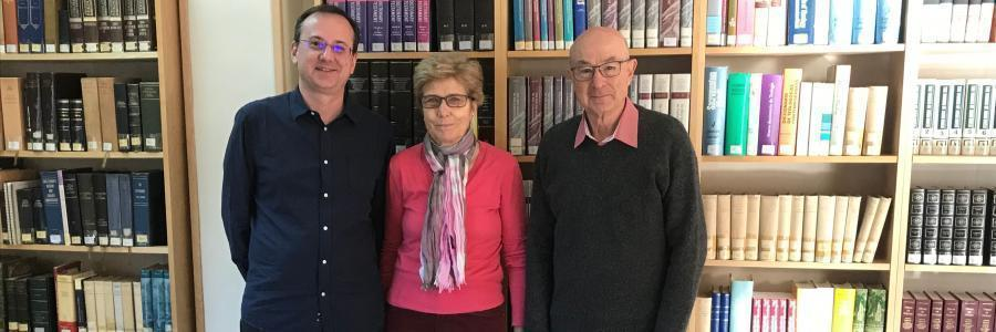 Donación bibliográfica de Irma Fliedner a la Facultad de Teología SEUT