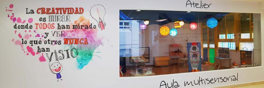 """Artículo en """"Ciudad Lineal"""" sobre la exposición del Atelier de Juan de Valdés en SIMO Educación 2018"""
