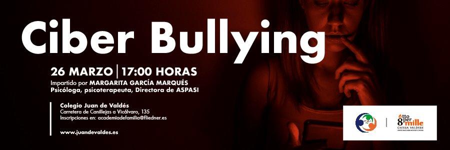 "Academia de familia organiza el taller sobre ""Ciberbullying"""