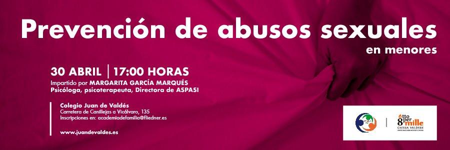 Se abre el plazo de inscripción para el taller sobre prevención de abuso sexual infantil