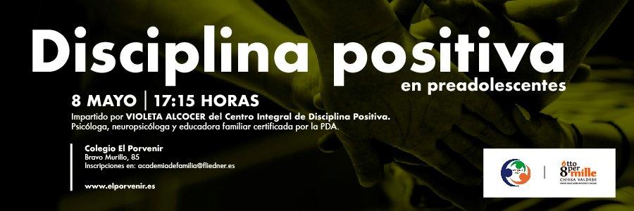 """Academia de Familia organiza el taller """"Disciplina positiva en preadolescentes"""""""
