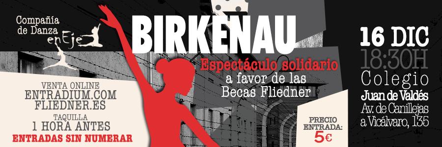 Ya están a la venta las entradas para el espectáculo solidario de danza BIRKENAU