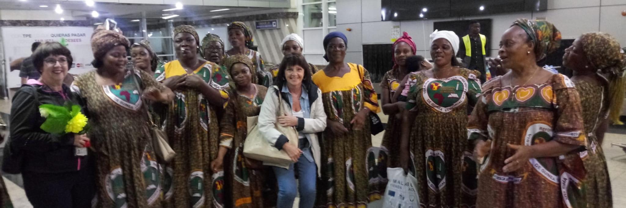 Un pedacito de la Fundación viaja a África