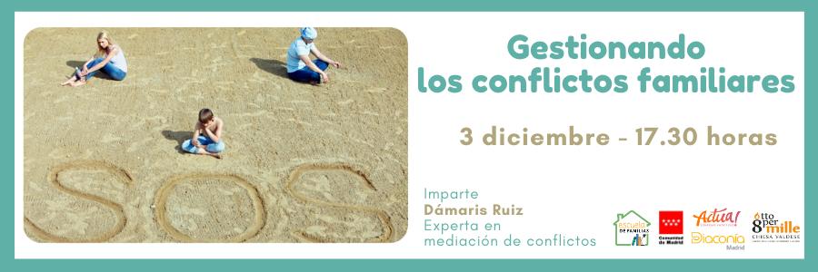 """Escuela de Familias celebra el taller """"Gestionando los conflictos familiares"""""""