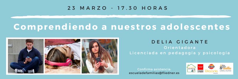 """Escuela de Familias celebra online el taller """"Comprendiendo a nuestros adolescentes"""""""