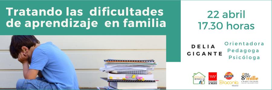 Escuela de Familias habla sobre cómo tratar en familia las dificultades de aprendizaje