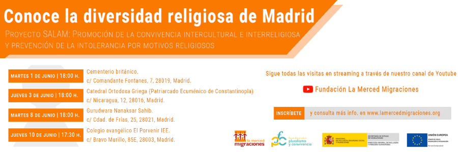 """A través del ciclo """"Conoce la diversidad religiosa de Madrid"""" se dará a conocer la historia que esconde el colegio El Porvenir"""