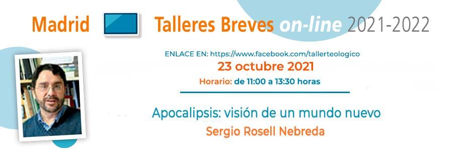 Primer Taller Breve con Sergio Nebreda el 23 de octubre