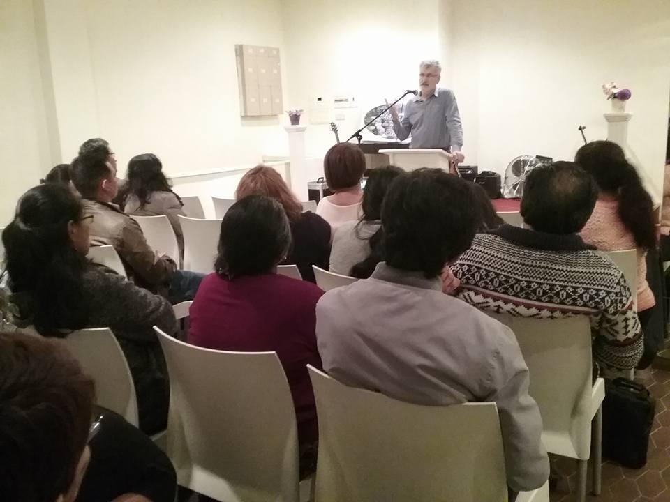 Foto de la audiencia