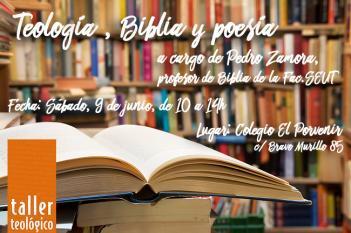 """Próximo Taller Breve: """"Teología, Biblia y poesía"""""""
