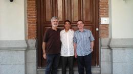 Visita de la Universidad Mariano Gálvez (Guatemala)