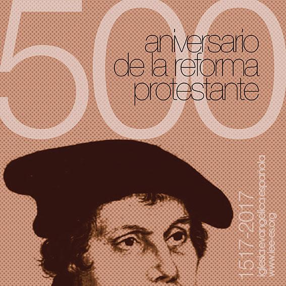 Cartel IEE Vº Centenario de la Reforma Protestante