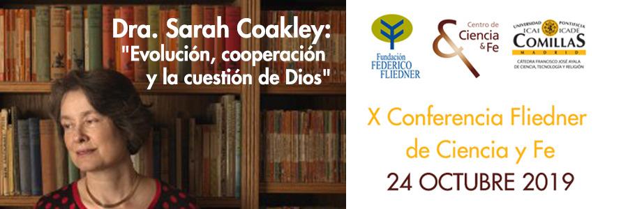 X Conferencia Fliedner de nuestro Centro de Ciencia y Fe: 24 de octubre
