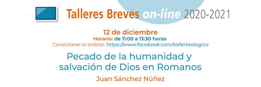 El profesor de SEUT Juan Sánchez será nuestro tallerista el 12 de diciembre