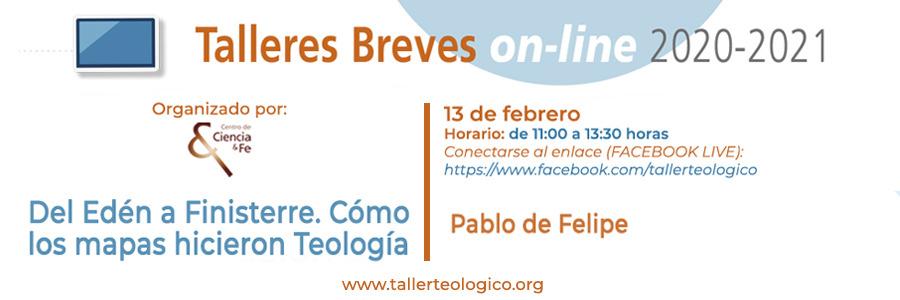 Próximo Taller Breve el 13 de febrero con Pablo de Felipe