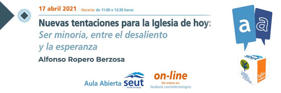 Participa en AULA ABIERTA el próximo 17 de abril, será un encuentro virtual