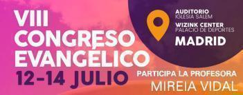 Participamos en el VIII Congreso Evangélico  (del 12 al 14 de julio 2017)