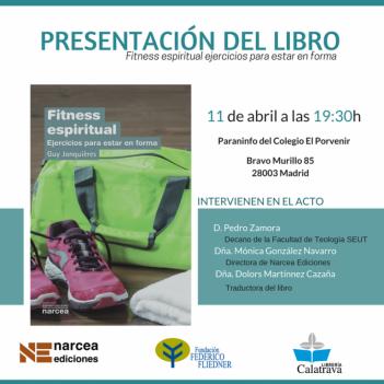 """Presentación del libro """"Fitness Espiritual"""""""
