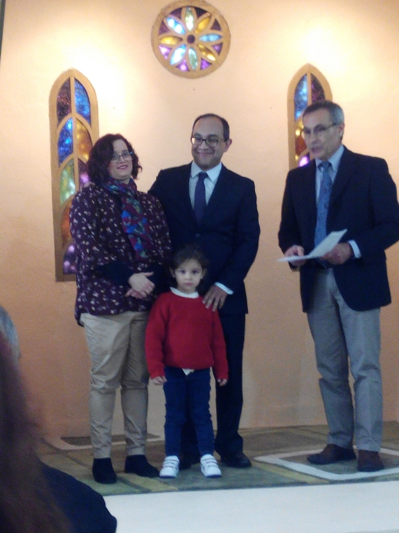 Foto con la familia de Sergio Simino