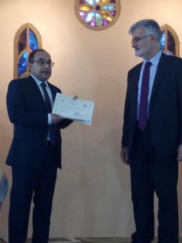 Encomendación al pastorado de Sergio Simino Serrano y entrega de título