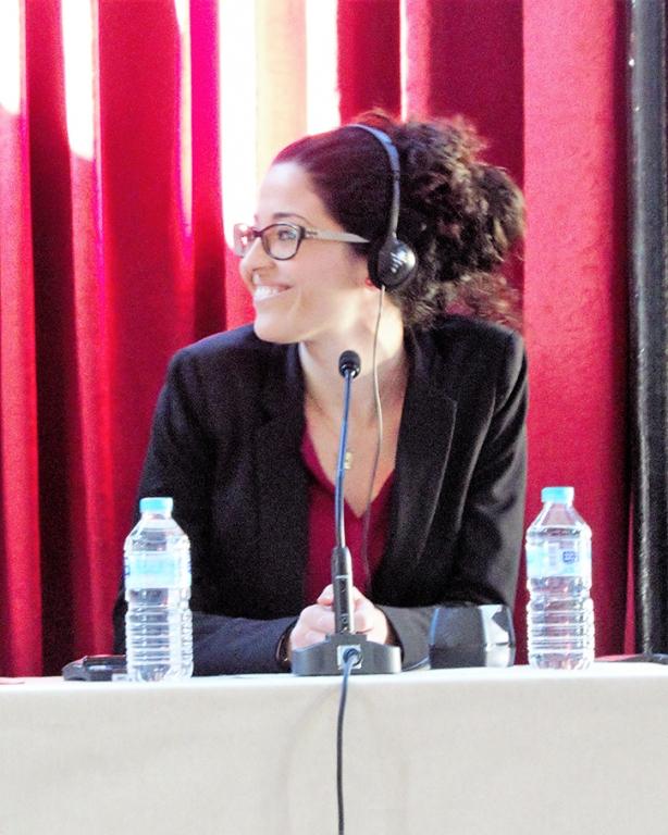 Foto de Salomé Arnáiz (Relaciones Institucionales de la FFF)
