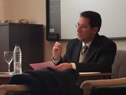 Defensa de tesis del prof. Israel Flores