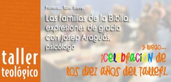 ¡¡ Ven a celebrar los 10 años de TALLER TEOLÓGICO !!