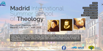 SEUT lanza su INTERNATIONAL SUMMER SCHOOL OF THEOLOGY