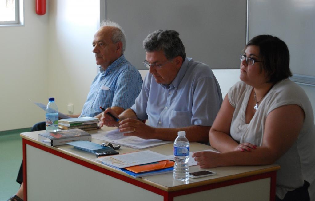 Foto de los ponentes